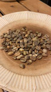 ハンドピック後の欠点豆